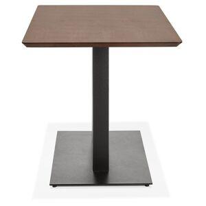 Table / bureau design 'ZUMBA' en bois finition Noyer - 150x70 cm - Publicité