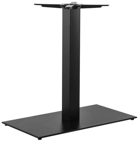 Pied de table 'NERO XL' 75 noir ...