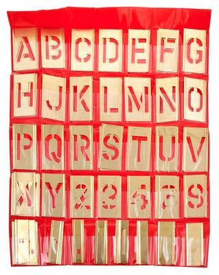 Adam Hall 5802 Stencil Set