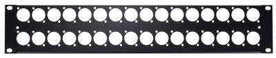 Thon Rack Panel 2U 32XLR