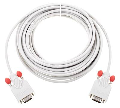 Lindy RS232 Cable 9pin male/male 10m