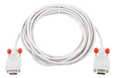 Lindy RS232 Cable 9pin male/male 5m