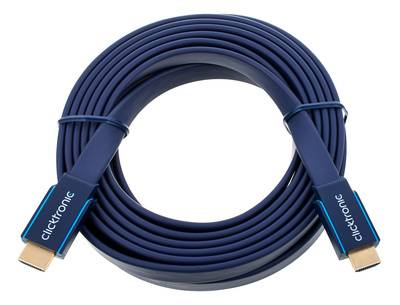 Clicktronic HDMI Casual Flat Cable 5m