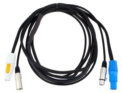 the sssnake PC 2,5 Power Twist/DMX Cable