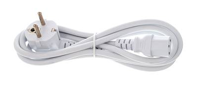 the sssnake EU Power Cable 1.8m White
