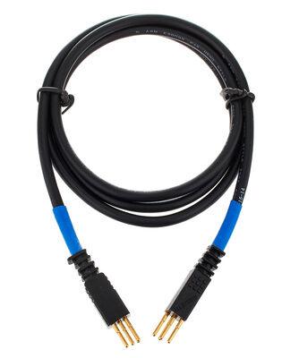 Ghielmetti Patch Cable 3pin 120cm, Blue