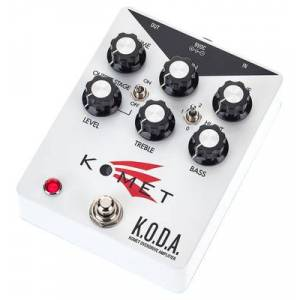 Komet Amplification K.O.D.A. Overdrive - Publicité