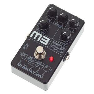 Subdecay M3 Mono Guitar Synthesizer - Publicité