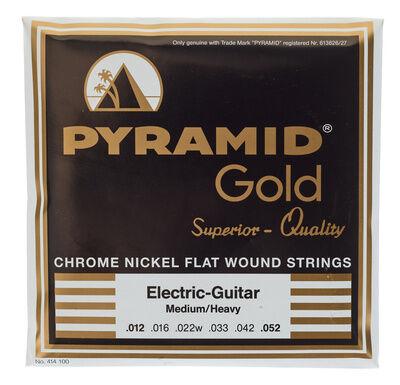Pyramid Gold Medium/Heavy Flatwound
