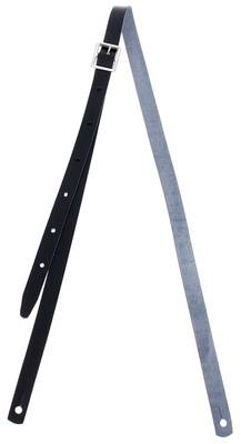 Klondyke Mandolin Strap Leather BK
