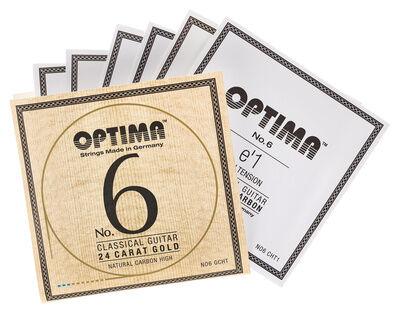 Optima No.6 Gold Strings Carbon High
