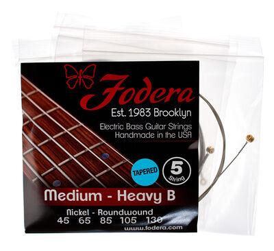 Fodera 5-String Set Medium-Heavy N TB