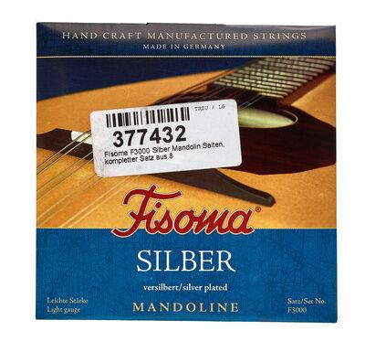 Fisoma F3000 Silver Mandolin Strings