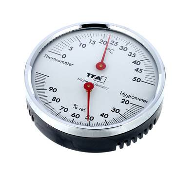 TFA Thermo-Hygrometer Red Hands