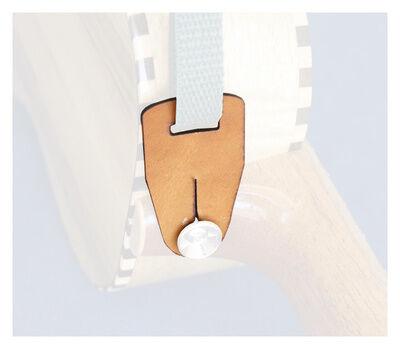 Uke Leash Strap Button Adaptor LBR