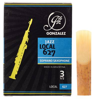 Gonzalez Local 627 Soprano Sax 3.5