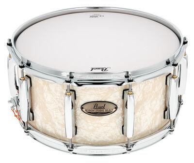 "Pearl 14""""x6,5"""" Session St. Sel. #405 Nicotine White Marine Pearl"
