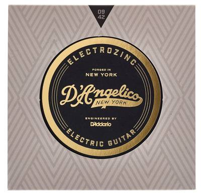 DAngelico Electrozinc Rock Extra Light