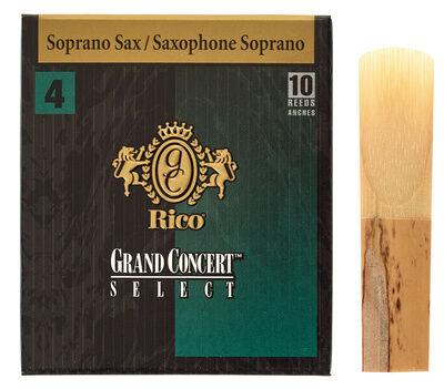 DAddario Woodwinds Grand Concert Soprano 4.0