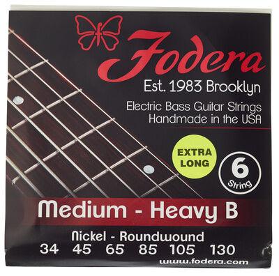Fodera 6-String Set Ni Med Heavy B XL