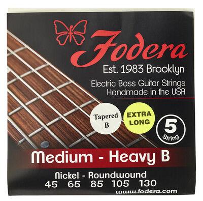 Fodera 5-String Set Med.Heavy N TB XL