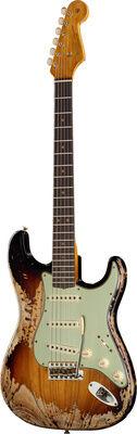 Fender 63 Strat Super Heavy Relic 3TS