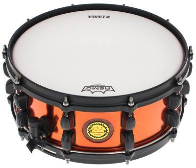 Tama 14''x5,5'' Ronald Bruner Jr. Sn. Orange Metallic Steel