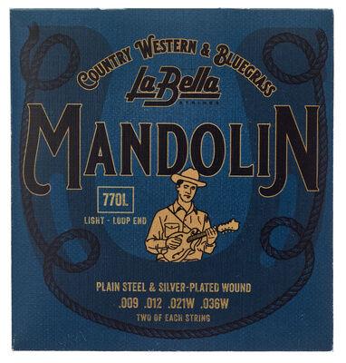La Bella 770L Mandolin Silv.Pl. Light