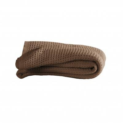 Blancheporte Couverture climatisante nid d'abeille - taupe