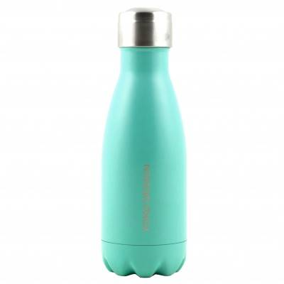 Blancheporte Bouteille isotherme inox 260 ml turquoise mat - turquoise