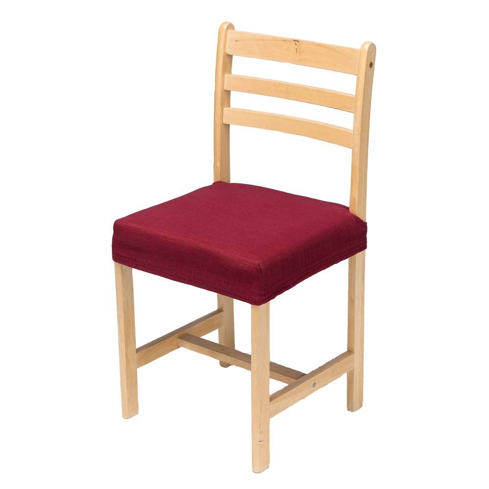 Housse chaise extensible - rouge - Blancheporte
