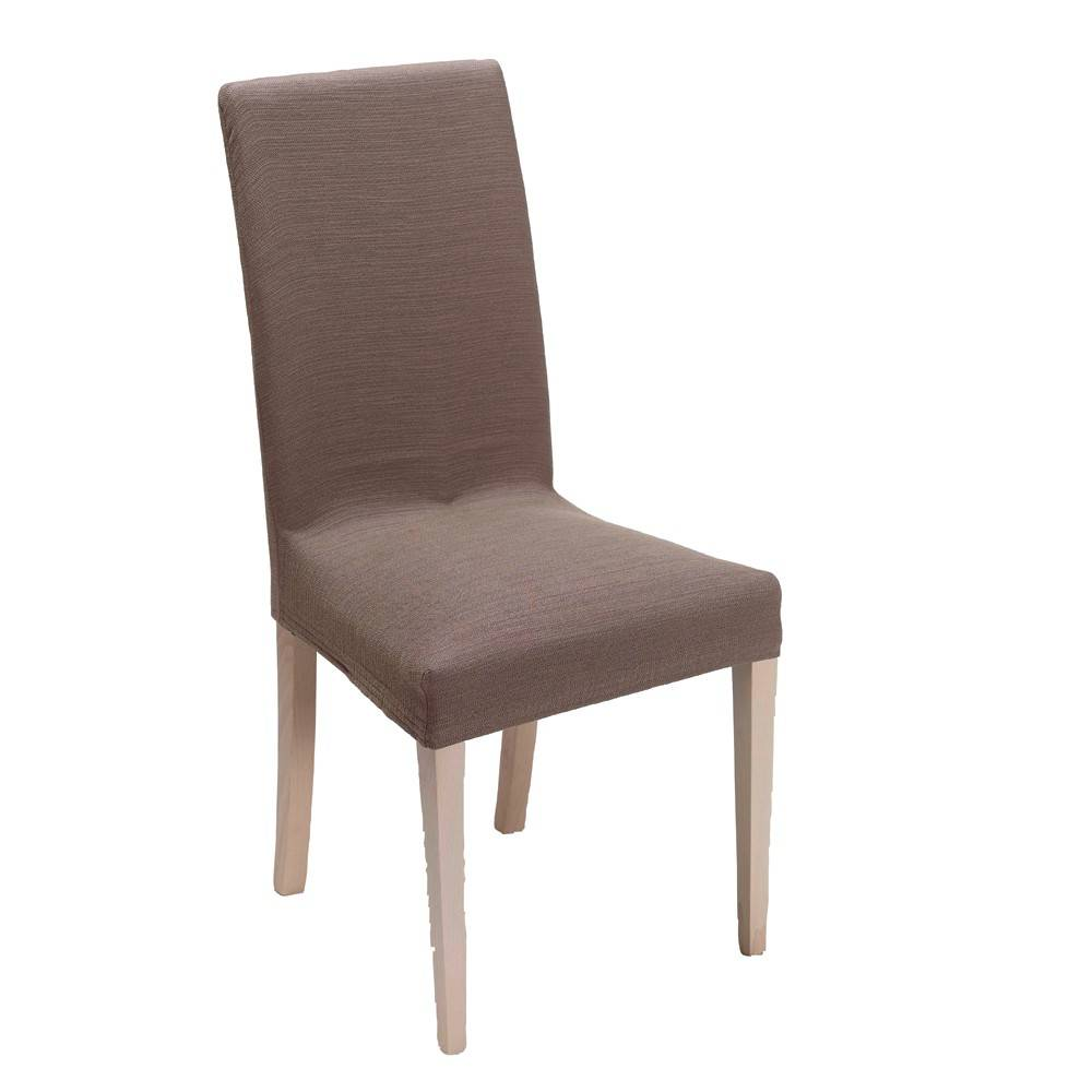 Housse chaise extensible - taupe - Blancheporte