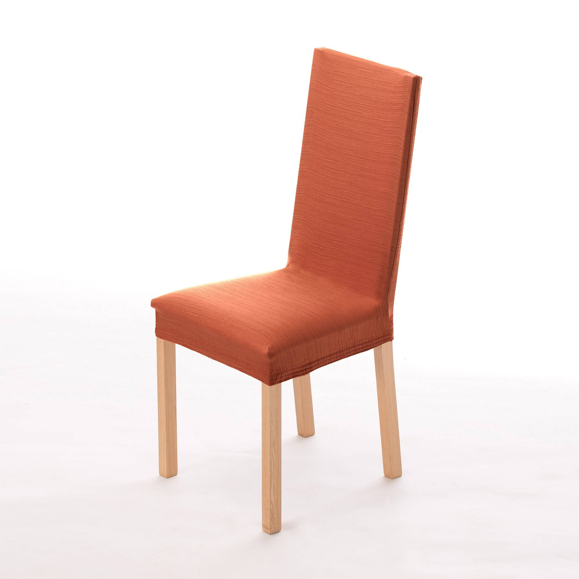 Housse chaise extensible - orange - Blancheporte