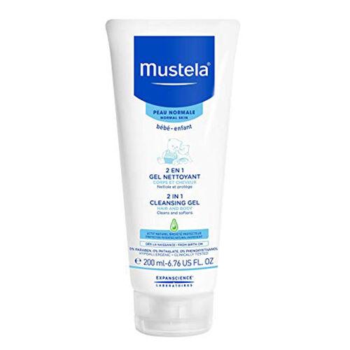 Mustela 2 en 1 Gel nettoyant cheveux et corps