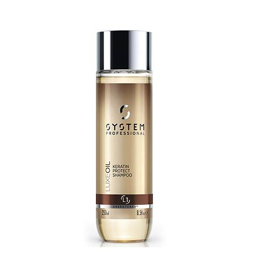 system professional shampooing keratin protect luxeoil