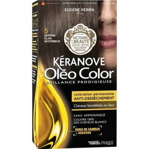 Kéranove Oléo Color-5 Châtain clair mystérieux