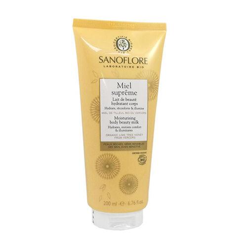 Sanoflore Lait de Beauté Hydratant Corps Miel Suprême Sanoflore