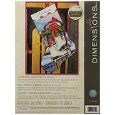 Dimensions Kit Canevas, Bas Patins à Glace