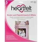 Heartfelt Creations Poche et Flip-Fold Inserts, Multicolore, 24.13x 17.78x 0.88cm