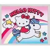 Vervaco Diamond painting kit Hello Kitty avec Licorne