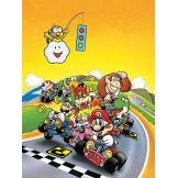 Nintendo WDC96276 Toile Imprimée, Bois Dense, Multicolore, 85 x 120 cm