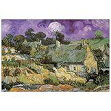 Artopweb TW22074 Panneau Décoratifs Van Gogh Chaumes De Cordeville, Impression sur Bois, Multicolore, 90x1.8x60 cm