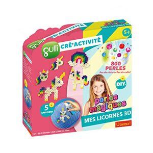 Upyaa CREACTIVITE Gulli Cré'activités Perles Magiques (800p) -Licornes, 430339, Multicolore - Publicité