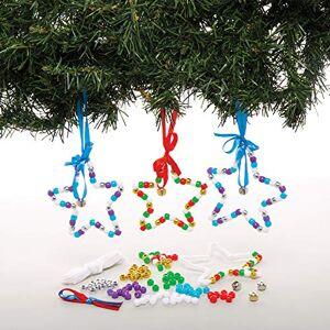 Baker Ross Kits de décorations étoiles en Perles (Paquet de 5) Loisirs créatifs de Nol pour Enfants - Publicité
