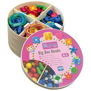 Andreu Toys 16002 Big Box Beads, Multicolore, 13,8 x 7,6 cm - Publicité