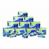 KMP Ruban encreur en Nylon pour Mannesmann-Tally MT 131/9 Noir