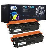 Alpa-cartridge CE323A Cartouche de Toner Laser remanufacturée pour Hewlett Packard CE323A–Magenta