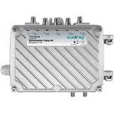 Axing TVS 544-00 amplificateur d'antenne multibande terrestre professionnel (5 entrées pour antenne FM, VHF, UHF)