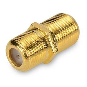 Assmann 84673 SAT Metal F-Kabelsteckverbinder (Buchse-auf-Buchse) - Publicité