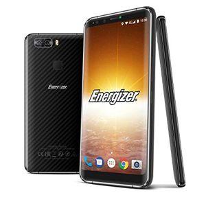 Energizer Powermax P600S Smartphone débloqué LTE (Ecran: 5,9 pouces 32 Go Double Nano-SIM Android) Noir carbone - Publicité